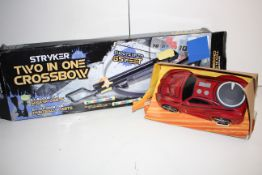 X 2 ITEMS STRYKER CROSS BOW AND CAR Condition ReportAppraisal Available on Request- All Items are