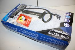 BOXED CAMPINGAZ DUAL ACTION QUICKPUMP RRP £13.99Condition ReportAppraisal Available on Request-