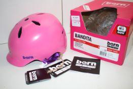 BOXED WITH TAGS BERN BANDITA THIN SHELL BIKE/SNOW/SKATE JUNIOR M-L 53-56CM RRP £59.99Condition