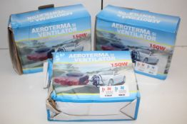 3X BOXED AEROTERMA SI VENTILATOR'SCondition ReportAppraisal Available on Request- All Items are