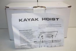 BOXED KAYAK HOIST Condition ReportAppraisal Available on Request- All Items are Unchecked/Untested