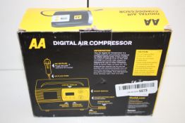 BOXED AA DIGITAL AIR COMPRESSOR AA5502 RRP £24.99Condition ReportAppraisal Available on Request- All