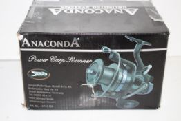 BOXED ANACONDA POWER CARP RUNNER FISHING REELCondition ReportAppraisal Available on Request- All