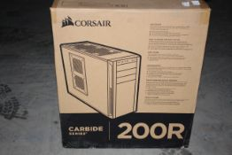 BOXED CORSAIR CARBIDE SERIES 200R SOLID PANEL PC TOWER RRP £59.97Condition ReportAppraisal Available