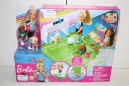 BOXED BARBIE DREAMHOUSE ADVENTURES FOOTBALL SET Condition ReportAppraisal Available on Request-