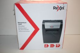 BOXED REXEL MOMENTUM X308 SHREDDER RRP £47.99Condition ReportAppraisal Available on Request- All