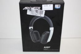 BOXED ARCHEER AH07 IMPACT WIRED & WIRELESS STEREO HEADPHONE RRP £69.99Condition ReportAppraisal