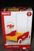 BOXED BRIO 31350 TODDLER WOBBLER RRP £36.50Condition ReportAppraisal Available on Request- All Items