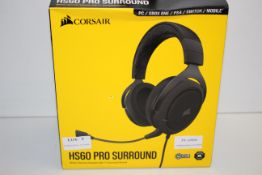BOXED CORSAIR HS60 PRO SURROUND STEREO GAMING HEADSET WITH 7.1 SURROUND RRP £64.99Condition