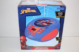 BOXED MARVEL SPIDER-MAN RADIO CD PLAYER RRP £39.99Condition ReportAppraisal Available on Request-