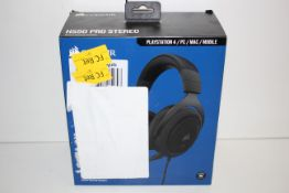 BOXED CORSAIR HS50 PRO STEREO PLAYSTATION STEREO GAMING HEADSET RRP £49.99Condition