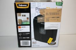BOXED FELLOWES POWERSHRED 8MC SHREDDER RRP £71.99Condition ReportAppraisal Available on Request- All