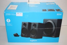 BOXED LOGITECH Z333 BOLD SOUND 80W PC SPEAKERS RRP £59.99Condition ReportAppraisal Available on