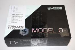 BOXED GLORIOUS PC GAMING MODEL 0- GAMING MOUSE RRP £59.99Condition ReportAppraisal Available on