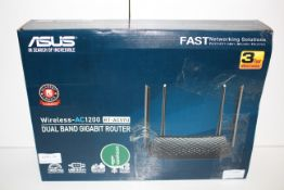 BOXED ASUS WIRELESS -AC1200 DUAL BAND GIGABIT ROUTER RRP £64.98Condition ReportAppraisal Available