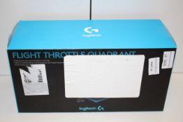 BOXED LOGITECH FLIGHT THROTTLE QUADRANT PROFESSIONAL AXES LEVERS SIMULATION CONTROLLER RRP £104.