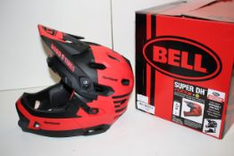 BOXED BELL SUPER DH FLEX BICYCLE HELMET SIZE SMALL REMOVEABLE CHIN BAR RRP £299.00Condition