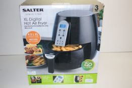 BOXED SALTER XL DIGITAL HOT AIR FRYER 4.5L RRP £59.99Condition ReportAppraisal Available on Request-