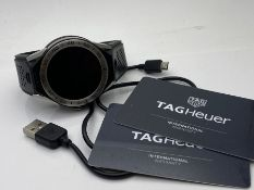 TAG HEUER CARRERA SMART WATCH, MULTI FUNCTIONAL WITH LCD DISPLAY