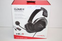 BOXED HYPER X CLOUD 2 GAMING HEADSET RRP £63.37Condition ReportAppraisal Available on Request- All