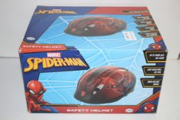 BOXED MARVEL SPIDER-MAN SAFETY HELMET RRP £18.99Condition ReportAppraisal Available on Request-