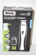BOXED WAHL STUBBLE TRIMMER WITH INTEGRATED COMB RRP £19.99Condition ReportAppraisal Available on