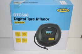 BOXED RING RTC500 DIGITAL TYRE INFLATOR 12V DC RRP £39.52Condition ReportAppraisal Available on