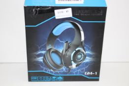 BOXED BEEXELLENT PRO GAMING HEADSET GM-1 RRP £31.95Condition ReportAppraisal Available on Request-