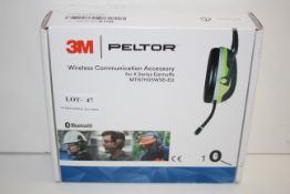 BOXED 3M PELTOR WIRELESS COMMUNICATION ACCESSORY FOR X SERIES EARMUFFSCondition ReportAppraisal