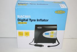 BOXED RING RAC601 DIGITAL TYRE INFLATOR RRP £29.56Condition ReportAppraisal Available on Request-
