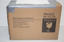 BOXED MINI ENGRAVING MACHINE Condition ReportAppraisal Available on Request- All Items are