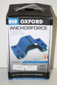 BOXED OXFORD ANCHORFORCE HIGH SECURITY GROUND AND WALL ANCHOR LK398 RRP £44.99Condition