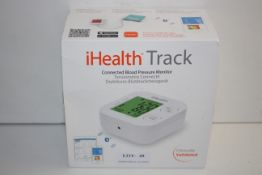 BOXED IHEALTH TRACK CONNECTED BLOOD PRESSURE MONITOR KN550-BT RRP £33.58Condition ReportAppraisal
