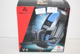 BOXED HUNTERSPIDER PRO GAMING HEADSET 4PIN RRP £28.41Condition ReportAppraisal Available on Request-