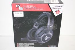 BOXED ONIKUMA K19 HIGH PERFORMANCE PROFESSIONAL GAMING HEADSET Condition ReportAppraisal Available