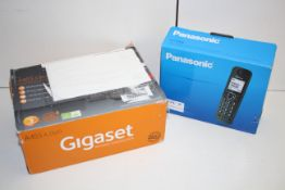 2X BOXED ASSORTED PHONES BY PANASONIC & GIGASETCondition ReportAppraisal Available on Request- All