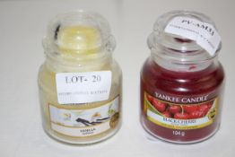 2X ASSORTED YANKEE CANDLES 104G (IMAGE DEPICTS STOCK)Condition ReportAppraisal Available on Request-