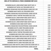 ONE LOT TO CONTAIN 21 ITEMS COMBINED RRP £632 (1070)Condition ReportALL ITEMS ARE BRAND NEW WITH