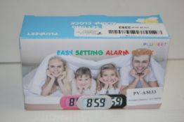 BOXED EASY SETTING ALARM CLOCKCondition ReportAppraisal Available on Request- All Items are