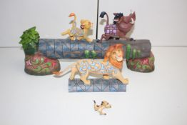 """BOXED DISNEY TRADITIONS """"CAREFREE CAMARADERIE"""" LION KING FIGURINE RRP £79.50Condition"""