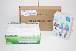 3X BOXED ASSORTED LIGHTS (IMAGE DEPICTS STOCK)Condition ReportAppraisal Available on Request- All