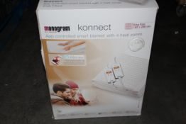 BOXED BEURER MONOGRAM KONNECT KING SIZE APP CONTROLLED SMART BLANKET WITH 4 HEAT ZONES RRP £138.