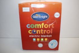 BOXED SILENTNIGHT COMFORT CONTROL ELECTRIC BLANKET SINGLE RRP £29.95Condition ReportAppraisal