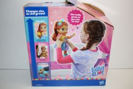 BOXED HASBRO BABY ALIVE DOLLCondition ReportAppraisal Available on Request- All Items are