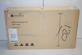BOXED TECKIN DIMMABLE LED FLOOR LAMP MODEL: FL33 RRP £45.99Condition ReportAppraisal Available on