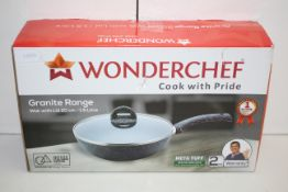 BOXED WONDERCHEF GRANITE RANGE WOK WITH LID 20CM RRP £18.99Condition ReportAppraisal Available on