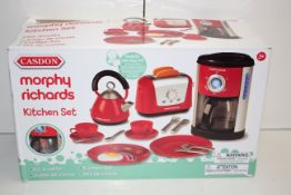 BOXED CASDON MORPHY RICHARDS KITCHEN SET TOYCondition ReportAppraisal Available on Request- All