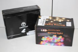 2X ASSORTED LIGHTING ITEMS (IMAGE DEPICTS STOCK)Condition ReportAppraisal Available on Request-