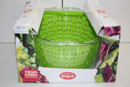 BOXED SNIPS TROPI CANA SALAD SPINNER 4L RRP £13.98Condition ReportAppraisal Available on Request-