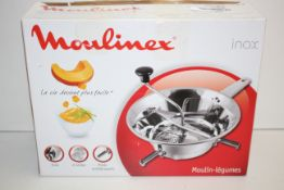 BOXED MOULINEUX INOX VEGEATABLE MILL RRP £27.89Condition ReportAppraisal Available on Request- All